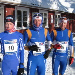 Tre beste 2009 Vegard Boe Marthinsen (tv) Ole Jakob Naess og Simen Haugen